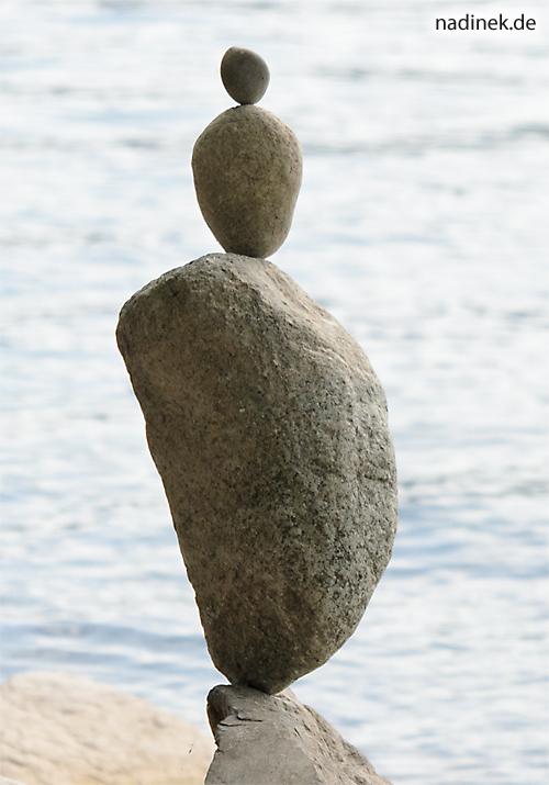 Steinmännchen am Bodensee